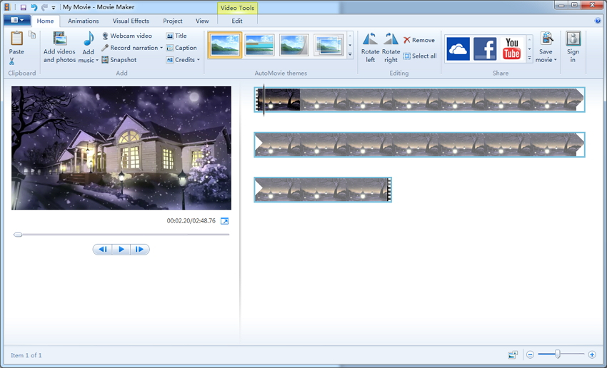convertir vidéo windows movie maker en mp4