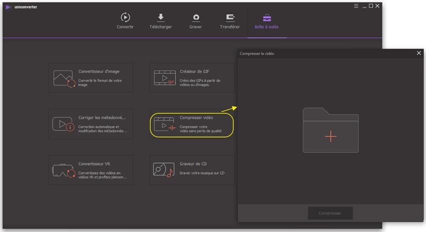 Charger des vidéos MP4 sur ce logiciel de compression vidéo MP4