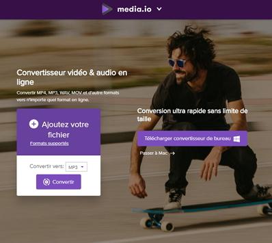 Convertisseur vidéo gratuit en ligne