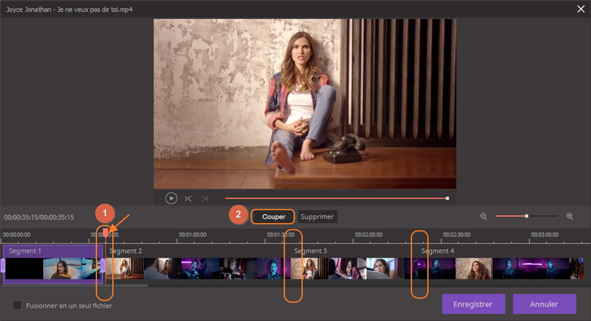 compresser MP4 sur Mac en convertissant la vidéo coupée
