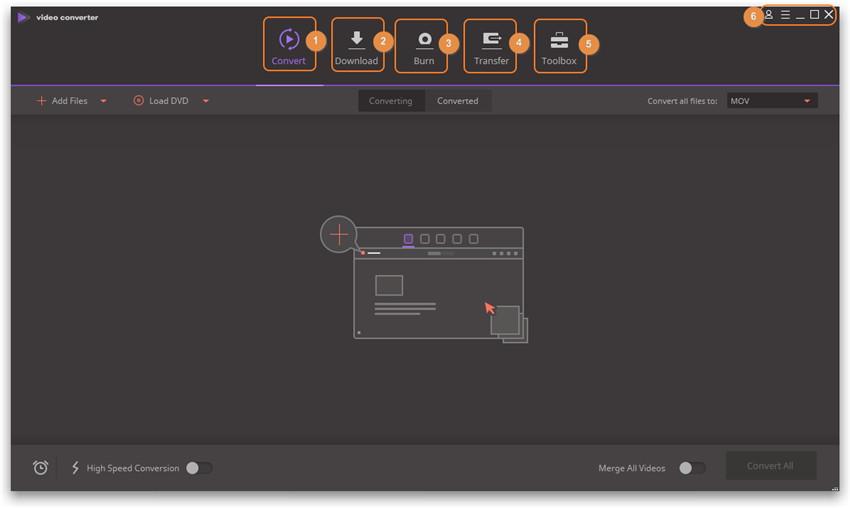 Wondershare Video Converter Ultimate Basics - general functions