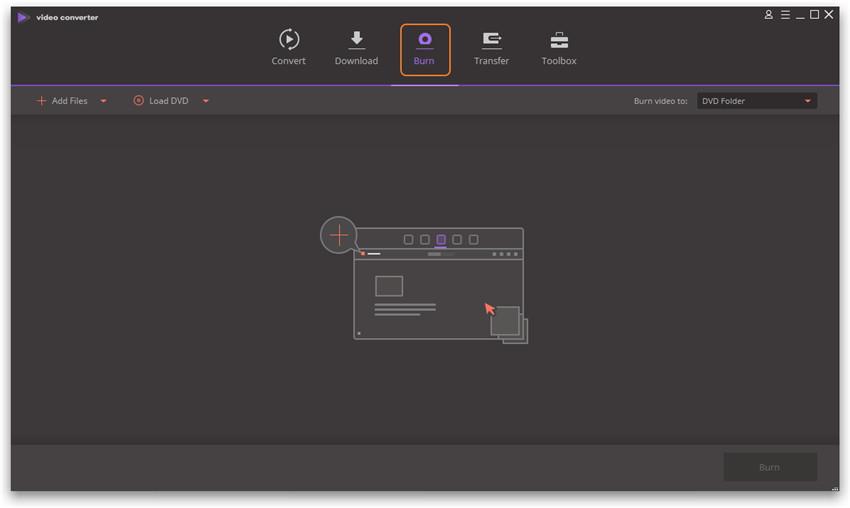 Wondershare Video Converter Ultimate Basics - dvd burner function