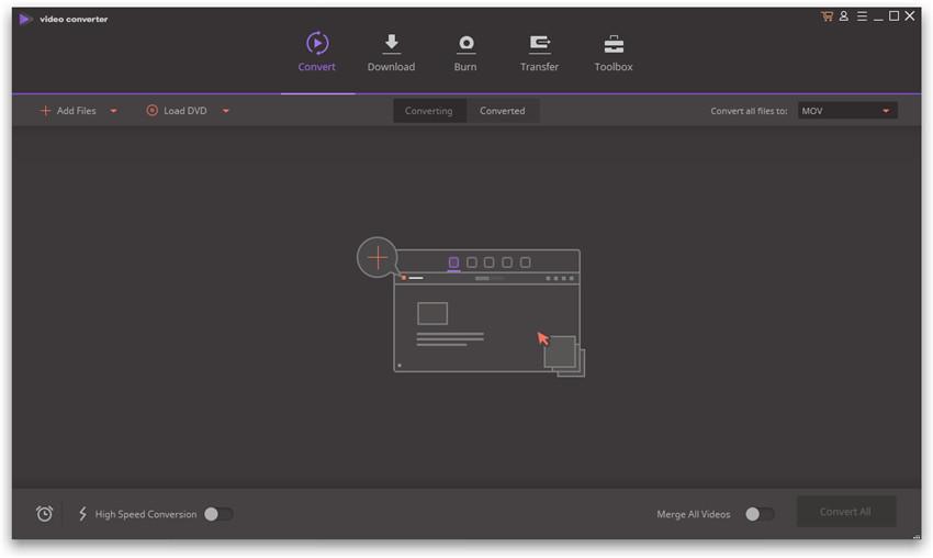 Intall Wondershare Video Converter Ultimate - Launch Wondershare Video Converter Ultimate