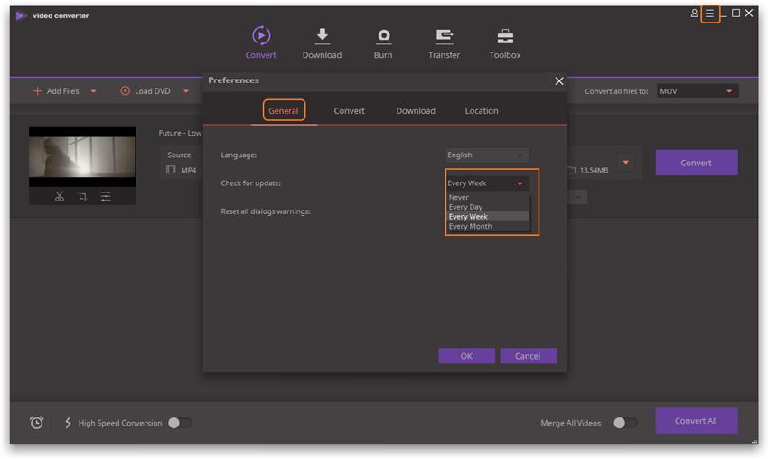 Register Wondershare Video Converter Ultimate - Update Wondershare Video Converter Ultimate