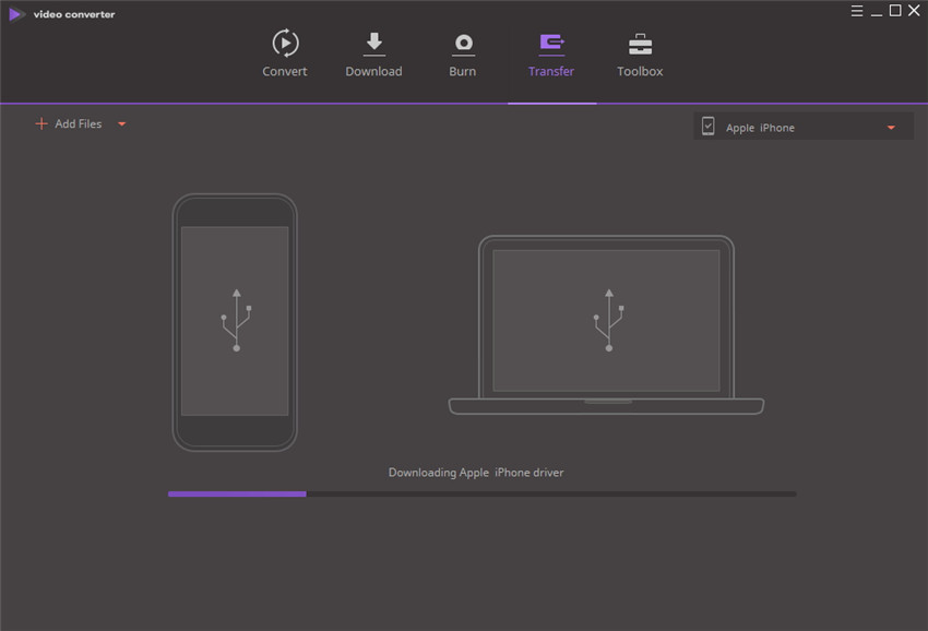transfer video to ios device