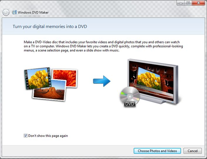 Windows 10 lecteur de DVD - Windows DVD Maker