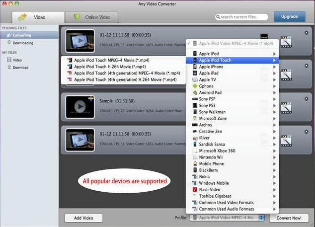 handbrake pour mac -Any Video Converter