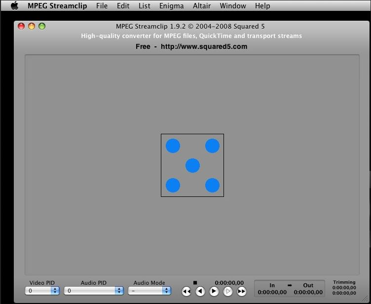 handbrake pour mac -MPEG Streamclip