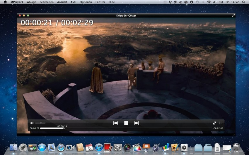 10 reproductores avi utiles para Mac - MPlayerX