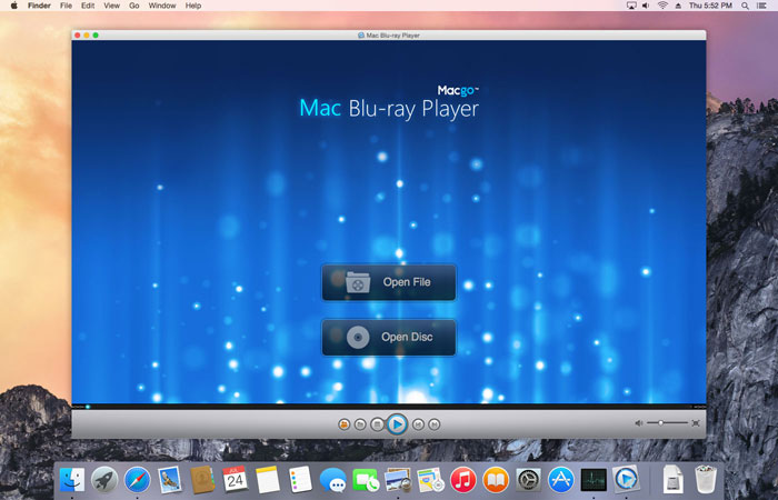 10 reproductores avi utiles para Mac - Macgo Mac Media Player