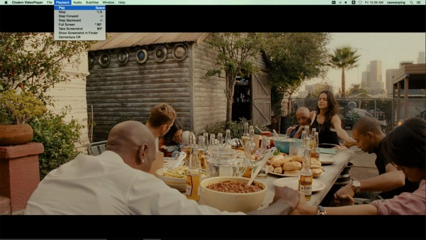 Cisdem VideoPlayer Mac avi player