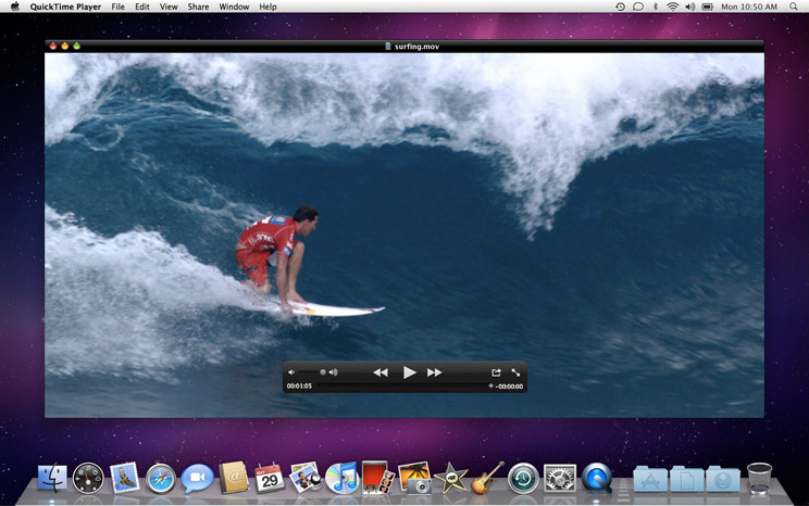 10 reproductores avi utiles para Mac - QuickTime