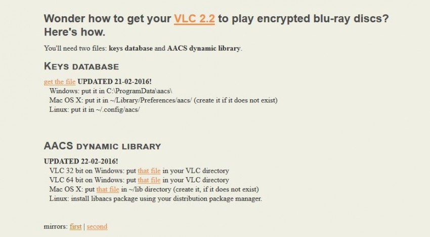 Download vlc voor Mac