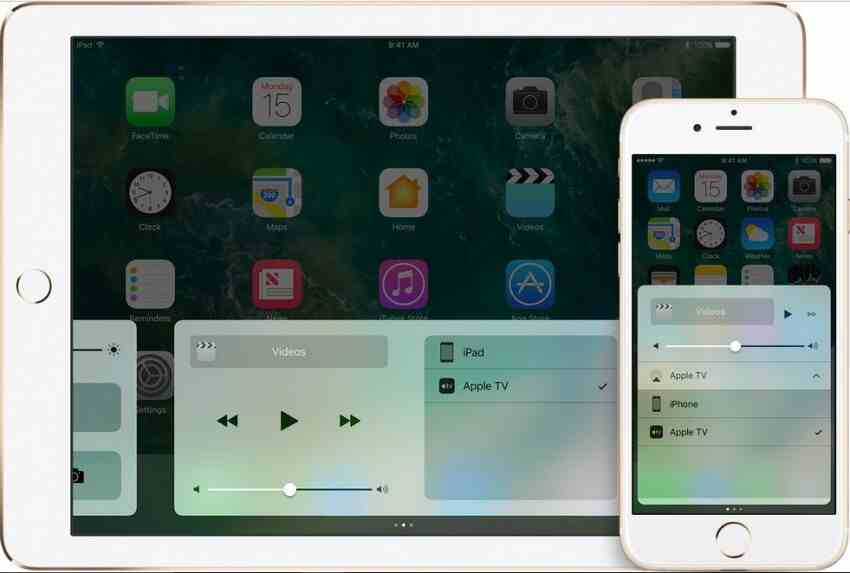 transmitir o vídeo com o airplay