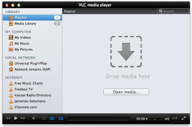 play m4v with vlc