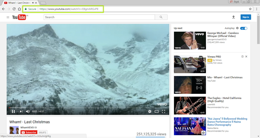 YouTube in MP4