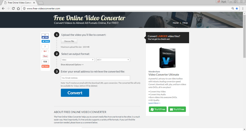 MP4 nach M4V konvertieren - Free Online Video Converter