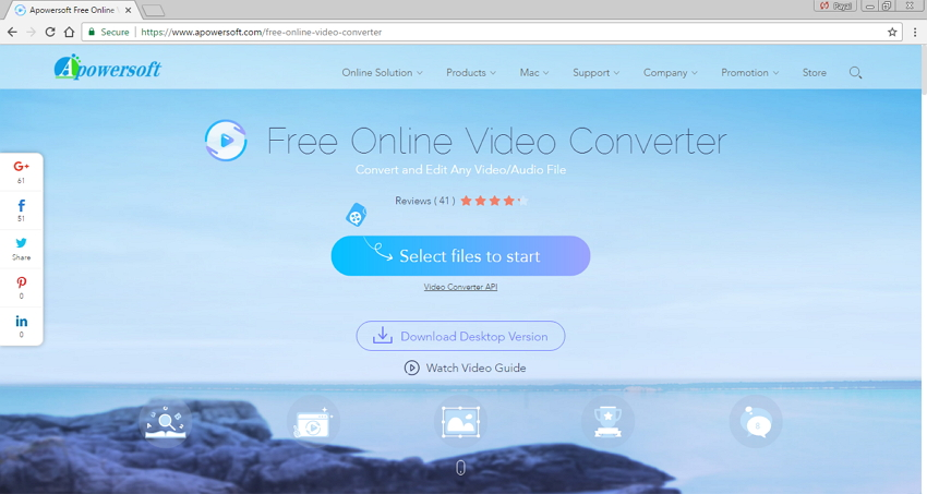 Convertir MP4 a M4V - Apowersoft Free Online Video Converter