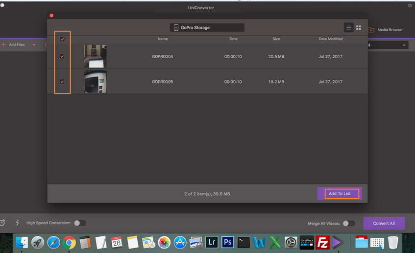 add camcorder video to converter- compress camcorder vide