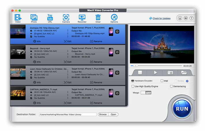 MacX Video Converter Pro - Camcorder-Videos komprimieren