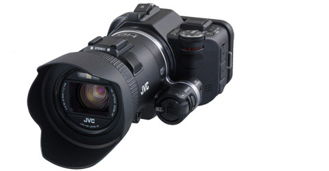 GC-PX100B- Precision Full HD Camcorder