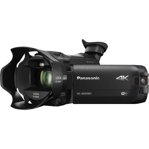Panasonic HC-WXF991K - Le meilleur caméscope 4K en 2017