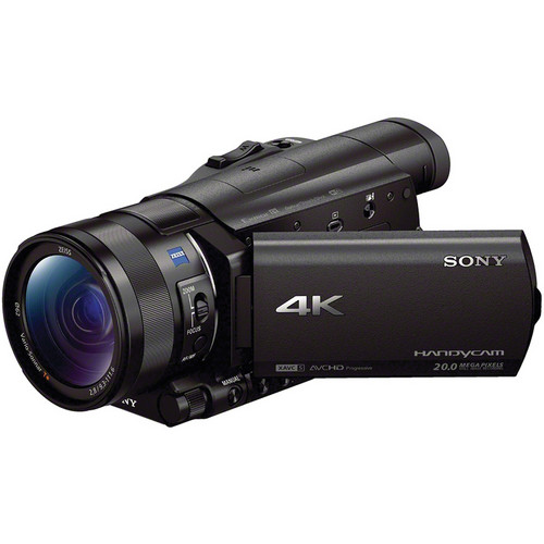 Sony FDR AX100 - Best 4K camcorder in 2017