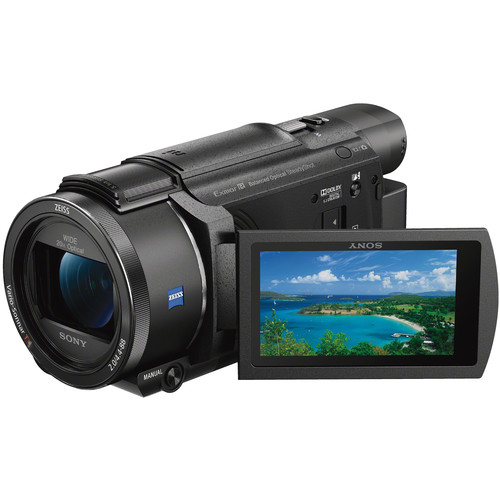 Sony AX53 - Best 4K camcorder in 2017