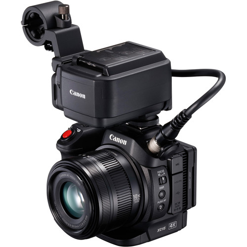 Canon XC15 - Best 4K camcorder in 2017