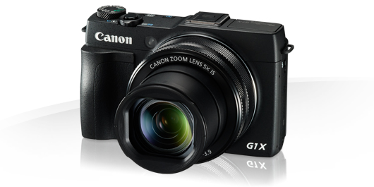 PowerShot G1 X Mark II - Canon Compact Digital Cameras