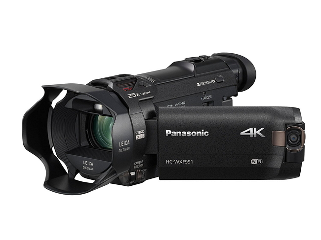 Panasonic HC-WXF991K 4K - 10 most popular Panasonic cameras