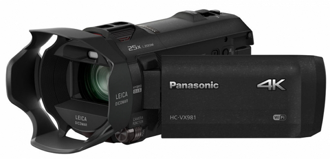 Panasonic HC-VX981K - 10 most popular Panasonic cameras