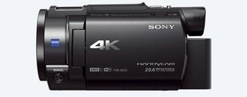 Sony FDRAX33/B - Best Sony Camcorder