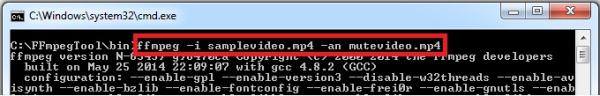 comprimir video usando FFmpeg