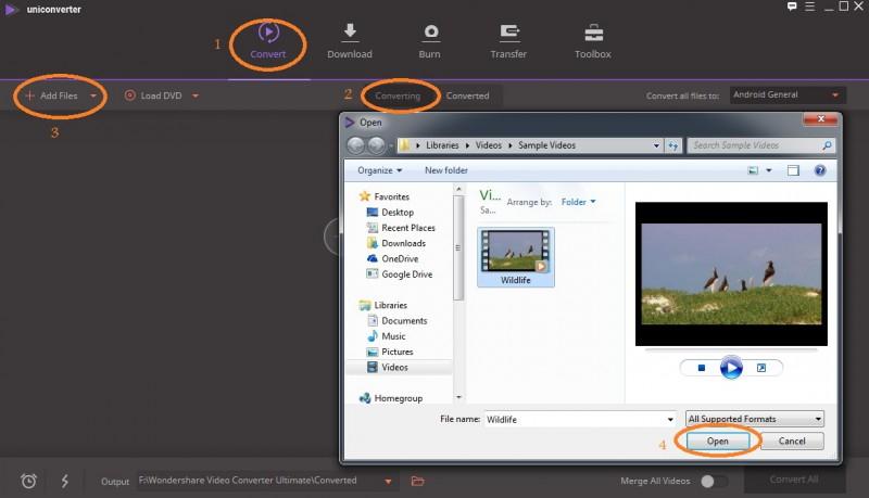 agregue videos al reductor de video - compresión de video vlc