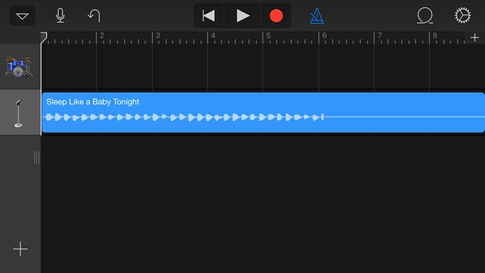 convertir mp3 a tono de llamada iphone con garageband-agregar canción a garageband