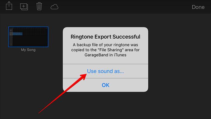 mp3 in iphone mit garageband-ton verwenden als