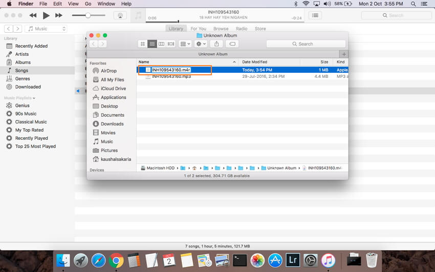 convert mp3 with itunes