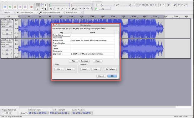 remove mp3 vocal-export the file