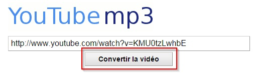 youtube vers mp3 convertisseur-youtubemp3