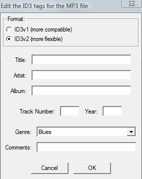 export audacity files in mp3