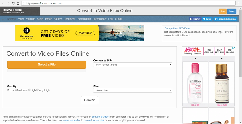 convert wmv video to mp4 video free online