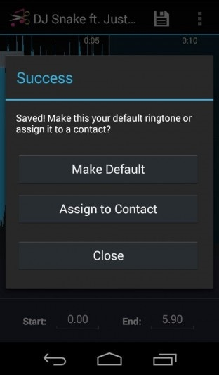 create ringtone for android device