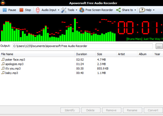 gravador mp3 online
