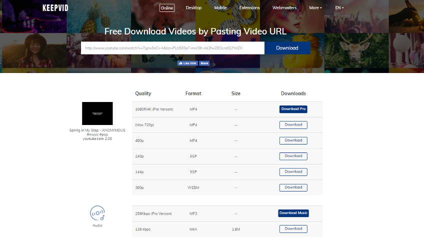 download videos do facebook em mp3