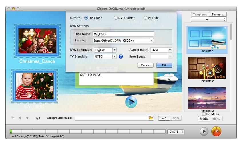 Cisdem DVD Burner 3 voor Mac