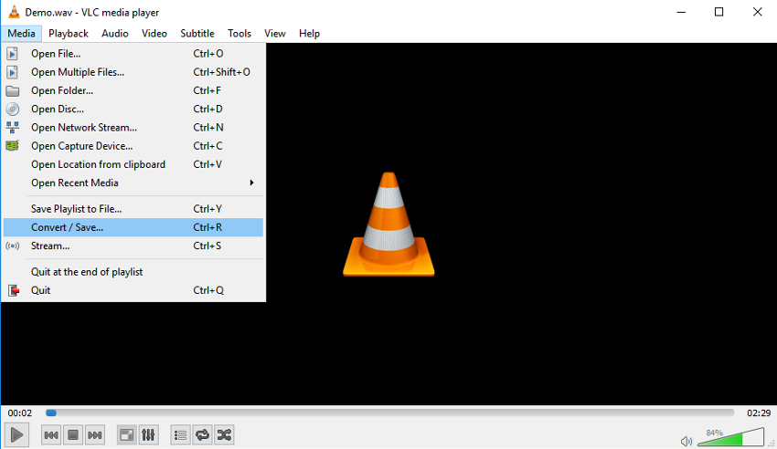 open vlc media player