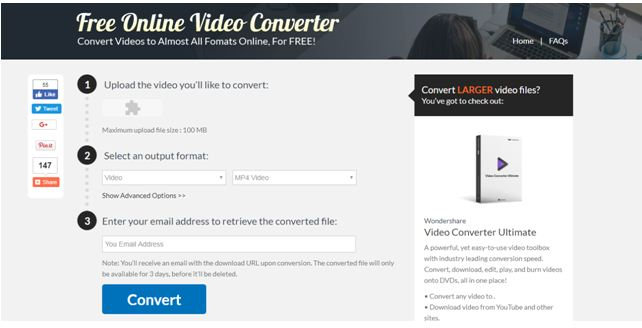 Top 10 Online and Free WMV Converters for Windows/Mac