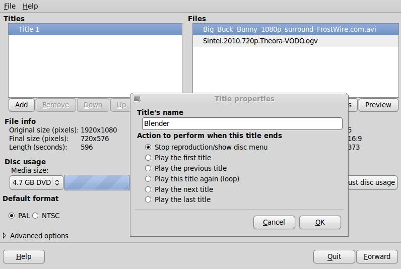 Logiciel de création de DVD gratuit