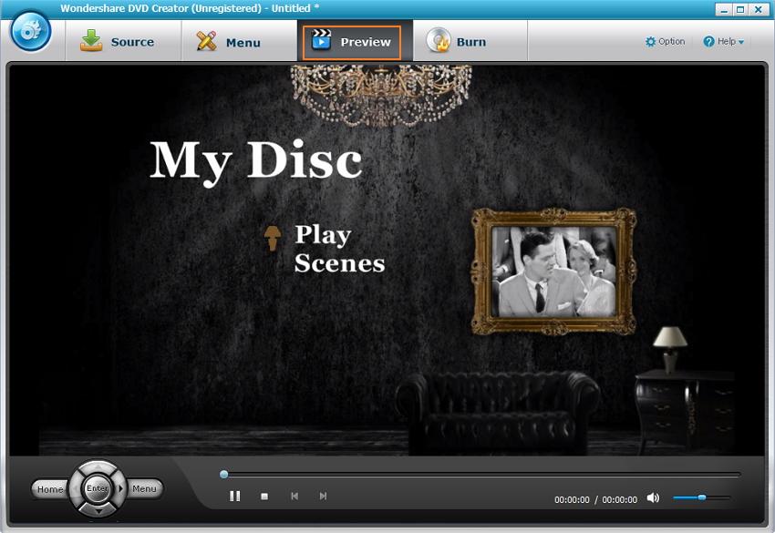 Prévisualisez votre DVD